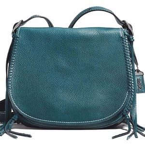 Coach 1941 whiplash saddle bag mineral